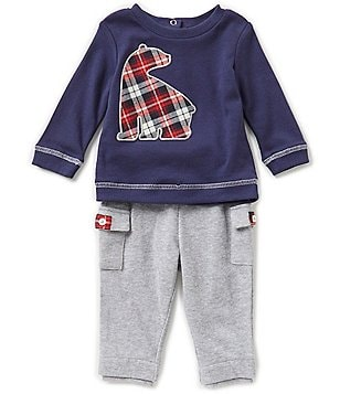 Wendy Bellissimo Baby Boys 3-24 Months Bear Shirt & Pants Set