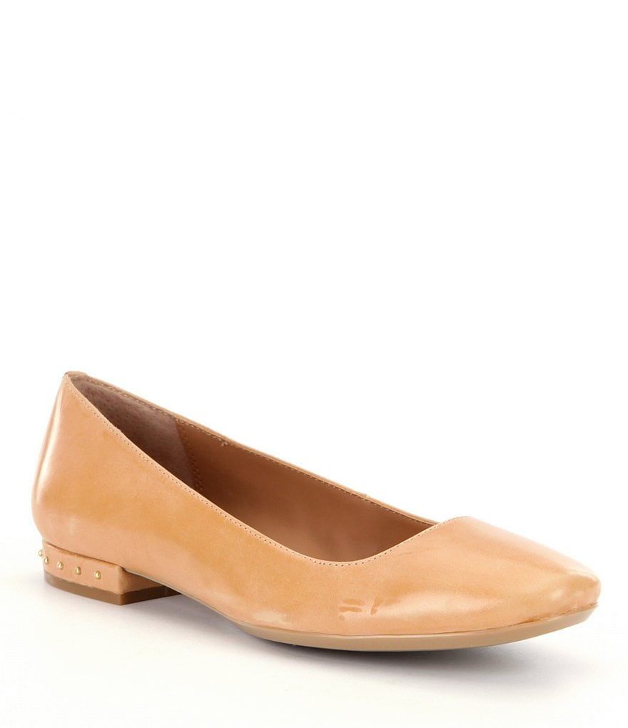 Calvin Klein Fridelle Slip-On Leather Flats