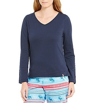 Jane & Bleecker Slub Jersey Sleep Top