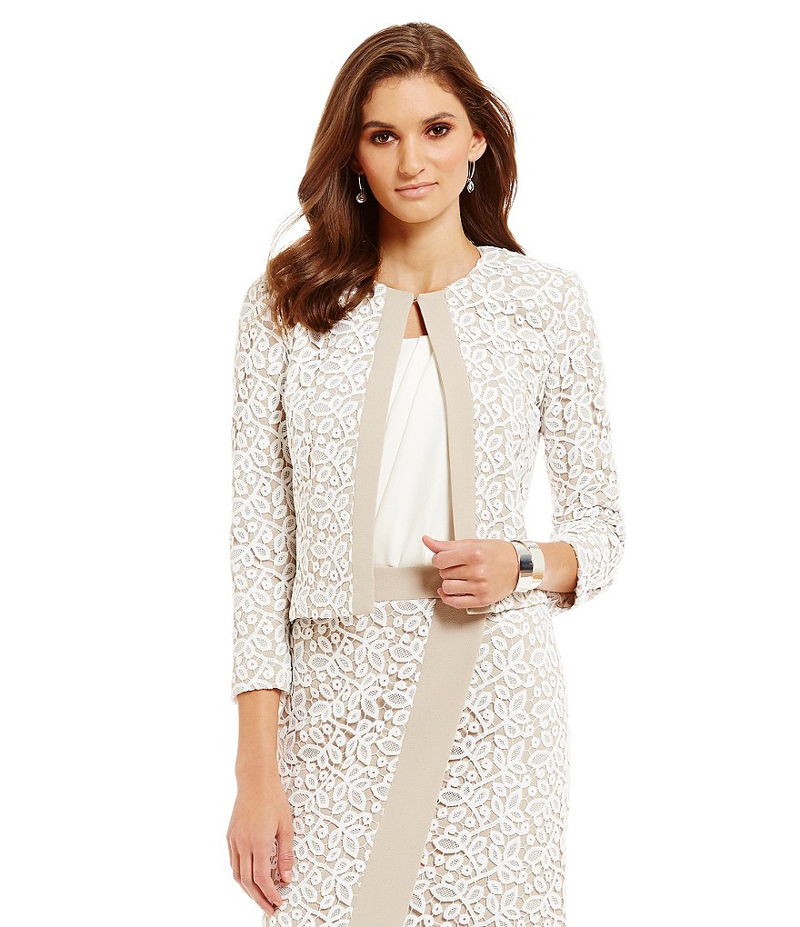 Katherine Kelly Blair Lace Jacket