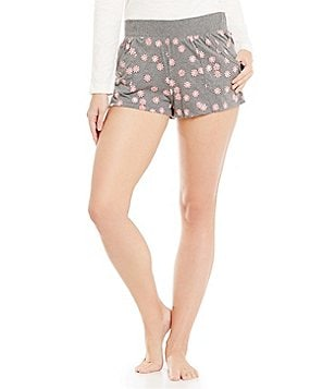 Jane & Bleecker Peppermint Candies Sleep Shorts