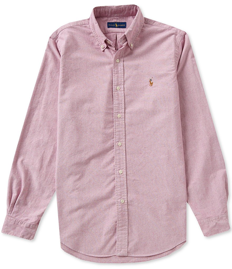 Polo Ralph Lauren Cotton Solid Oxford Shirt