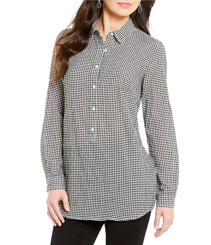 J.McLaughlin Wren Tunic Collared Top
