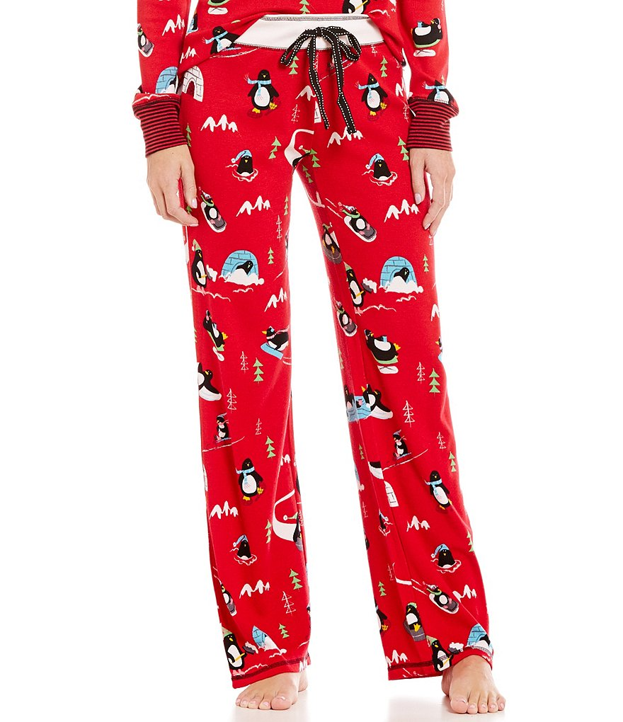 PJ Salvage Penguin Run Thermal Sleep Pants