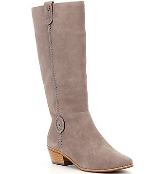 Jack Rogers Sawyer Suede Whip Lacing Rondelle Detail Boots