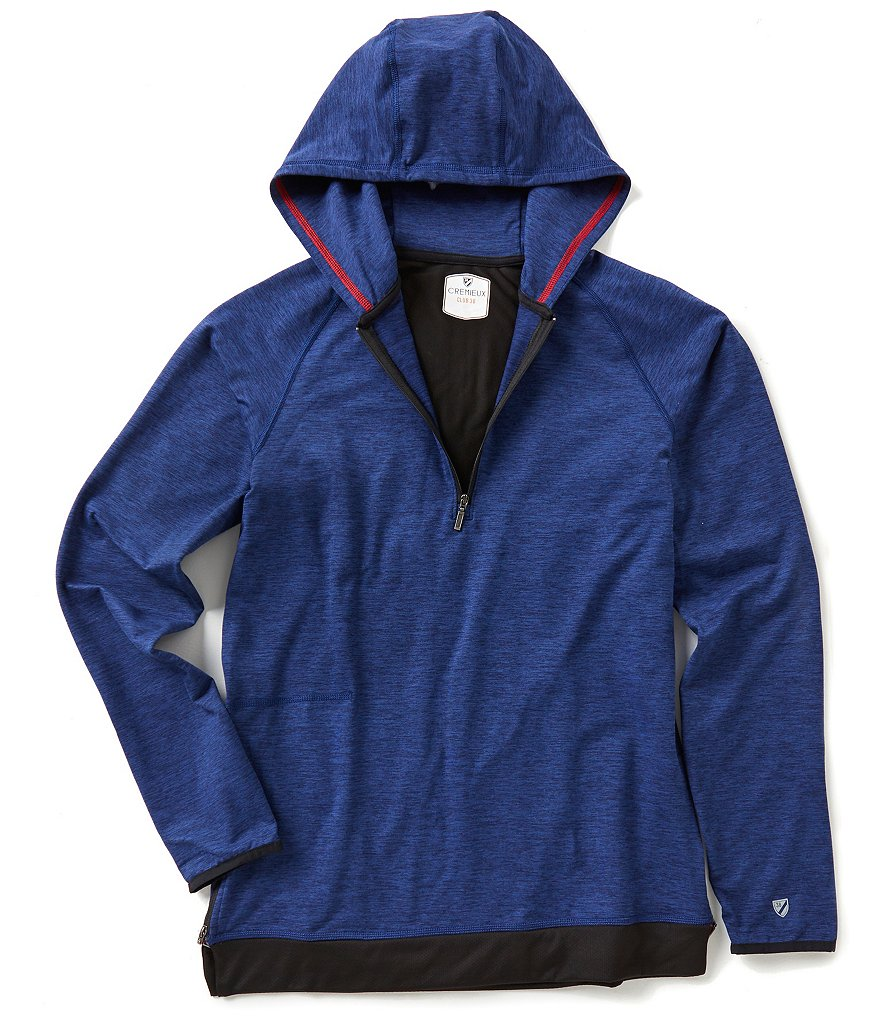 Cremieux Club 38 Long-Sleeve Quarter-Zip Hoodie
