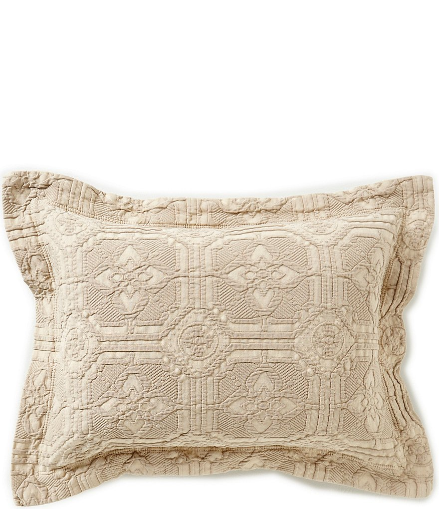 Southern Living Lancaster Tiled Matelassé Breakfast Pillow