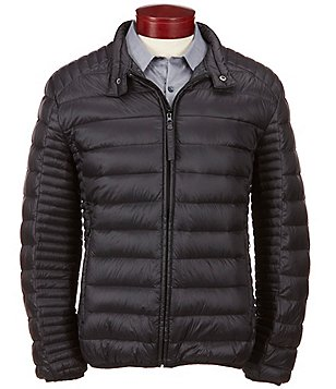Marc New York Andrew Marc Lincoln Packable Down Motorcycle Hipster Jacket