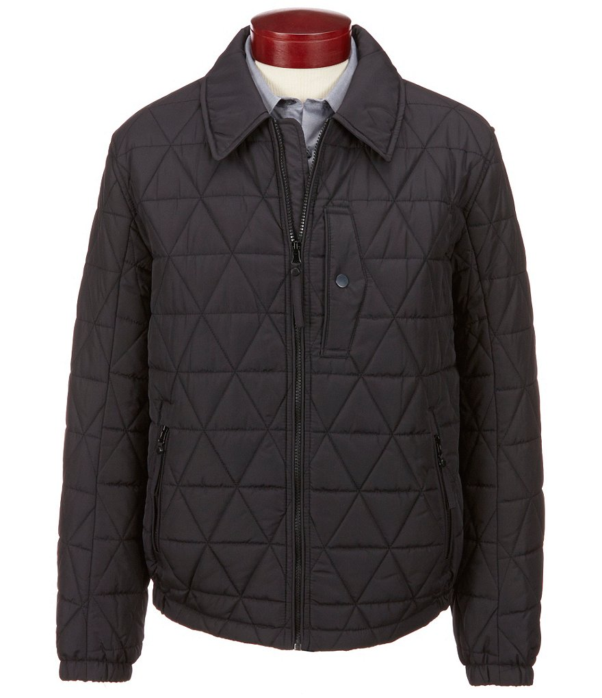 Marc New York Andrew Marc Mechanics Quilted Hipster Jacket