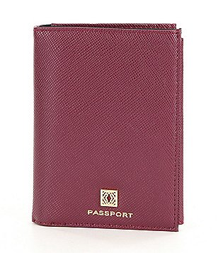 Kate Landry Crosshatched Passport Case