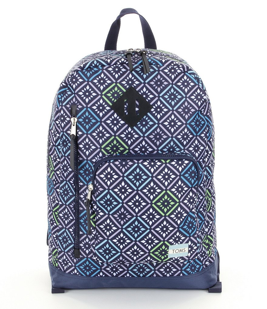 TOMS High Road Vintage Tile-Print Backpack