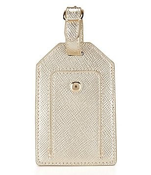 Kate Landry Crosshatched Luggage Tag