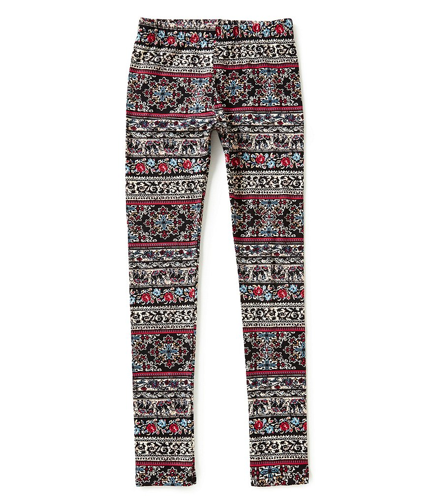 People´s Project LA Big Girls 7-16 Allegria Mixed-Print Leggings