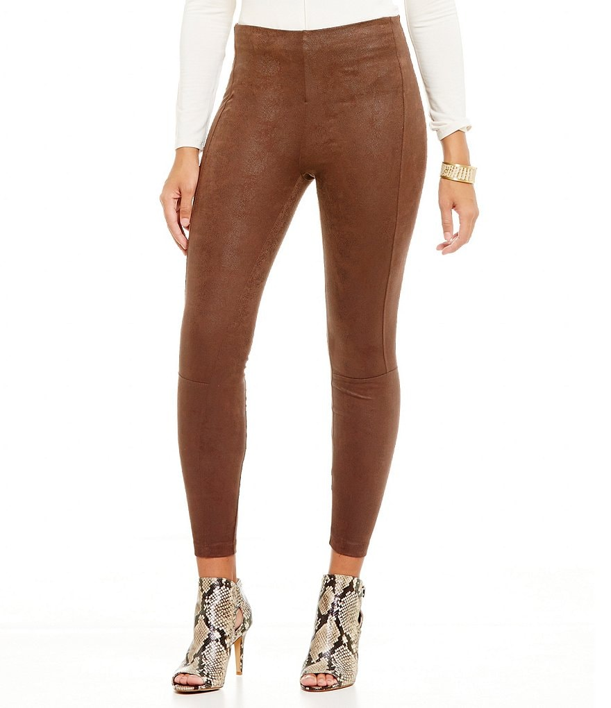 Lysse Buffed Faux Suede Leggings