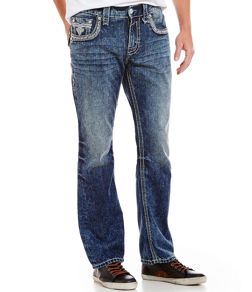 Rock Revival Casey J400 Straight Fit Jeans