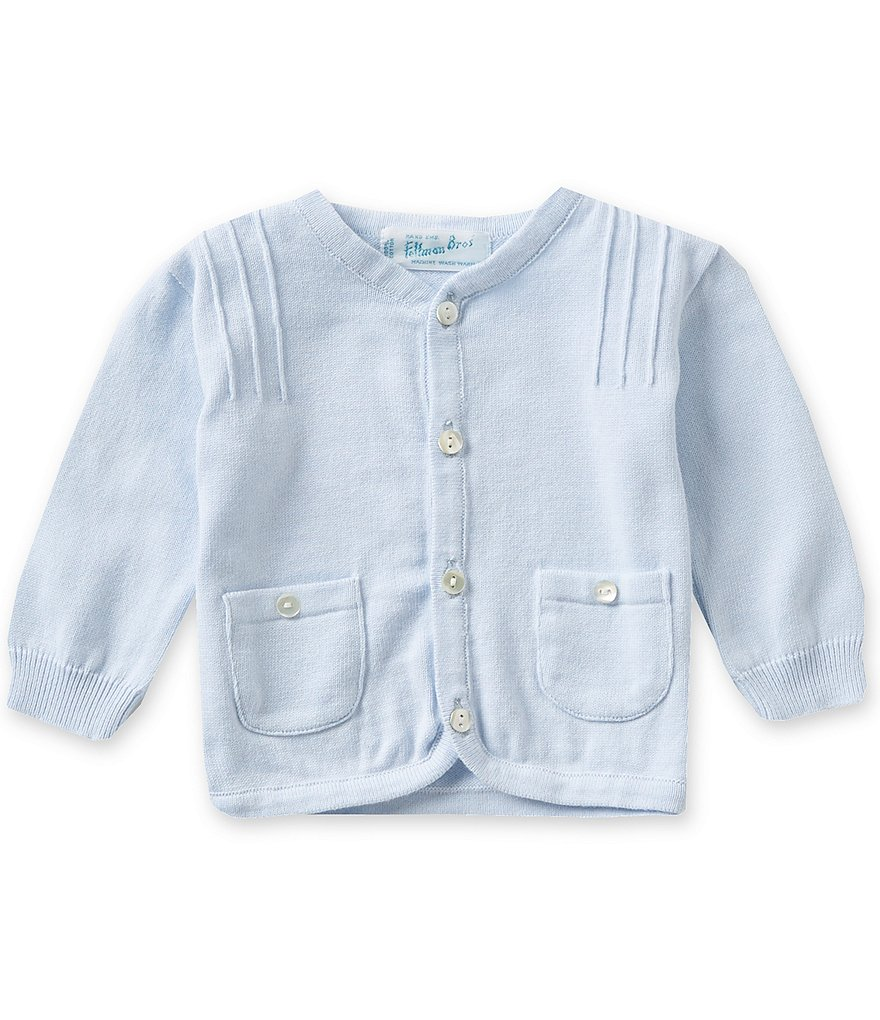 Feltman Brothers Baby Boys 3-24 Months Knit Pocket Cardigan