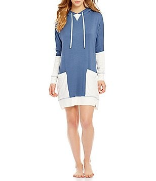 Jane & Bleecker Hooded French Terry Lounger