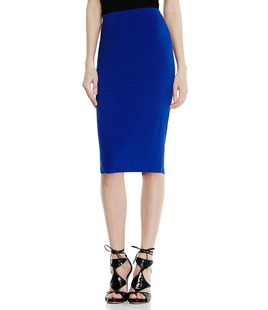 Vince Camuto Pull-On Midi Tube Skirt