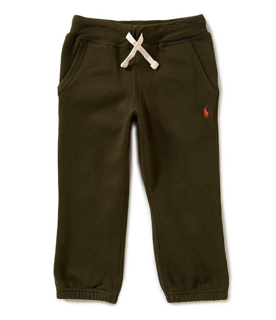 Ralph Lauren Childrenswear Little Boys 2T-7 Fleece Pants