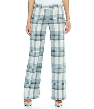 Katherine Kelly Willow Plaid Pant
