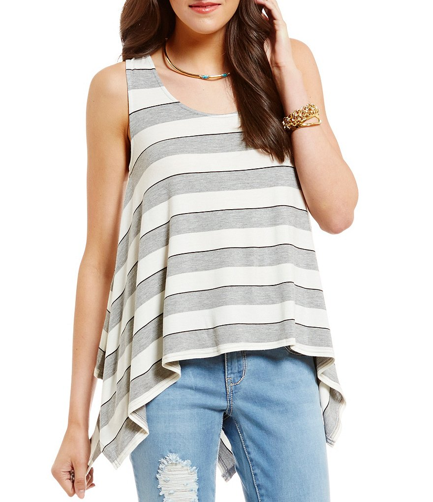Copper Key Striped Sharkbite Hem Tank
