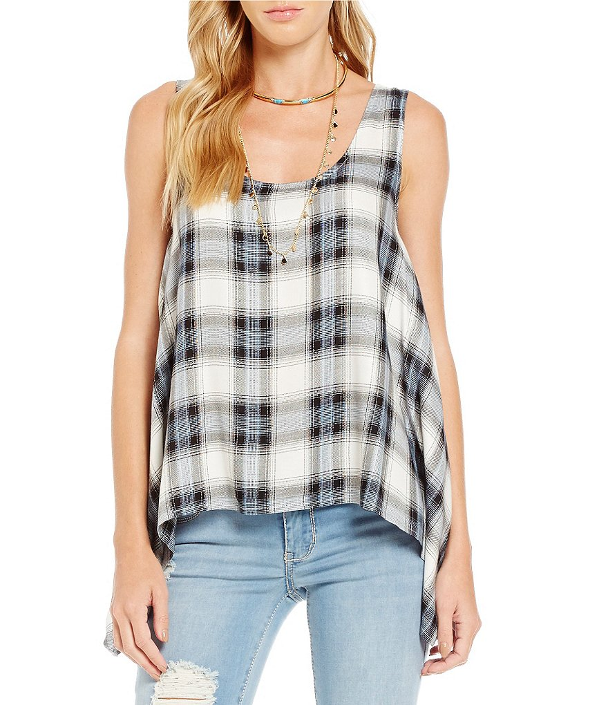 Copper Key Plaid Sharkbite Hem Tank