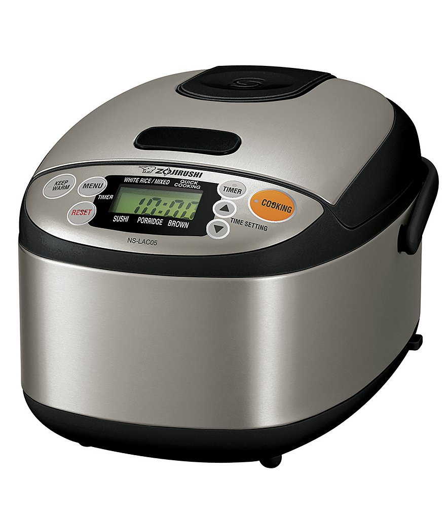 Zojirushi Micom 3-Cup Rice Cooker with Stainless Steel Exterior