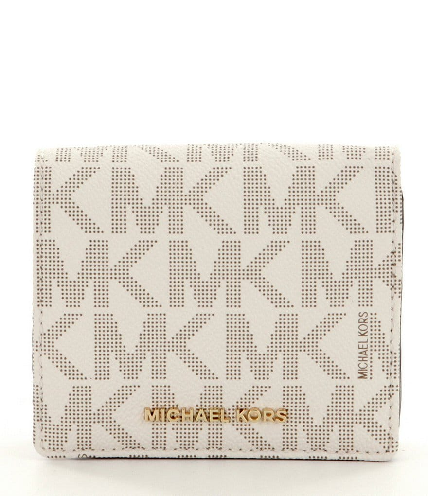 MICHAEL Michael Kors Jet Set Faux Leather Carryall Card Case