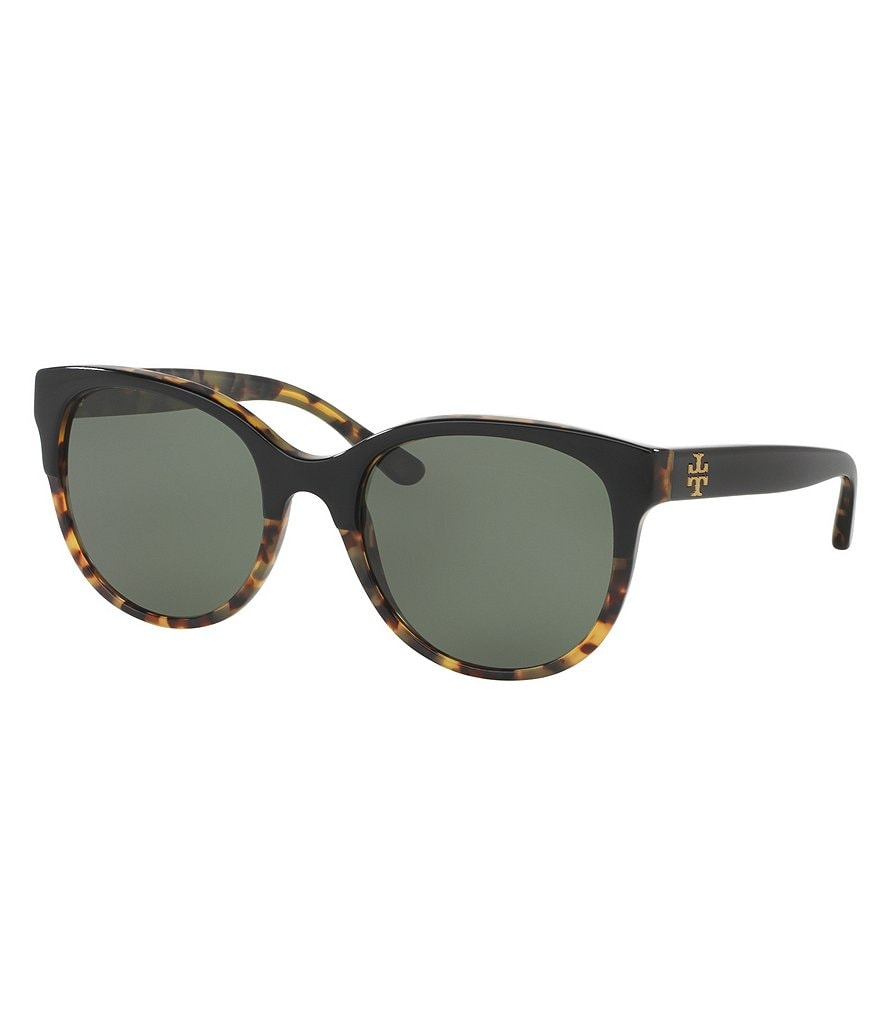 Tory Burch Polarized Round Sunglasses