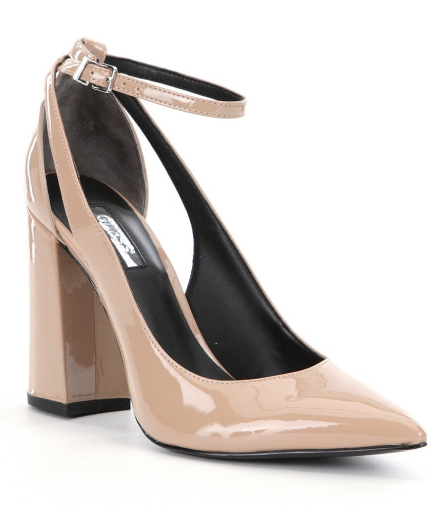 Guess Braya Ankle Strap Pumps