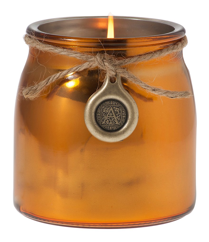 Aromatique Southern Persimmon Metallic Jar Candle