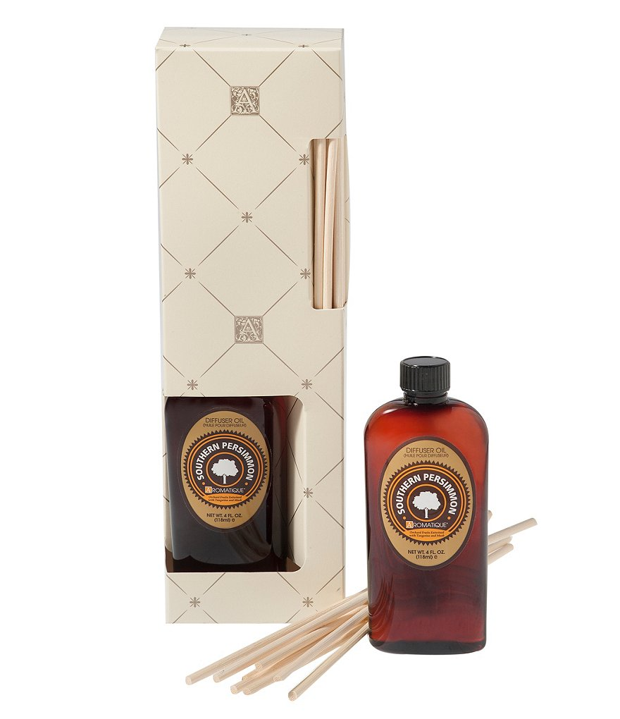 Aromatique Southern Persimmon Diffuser Oil with Reeds