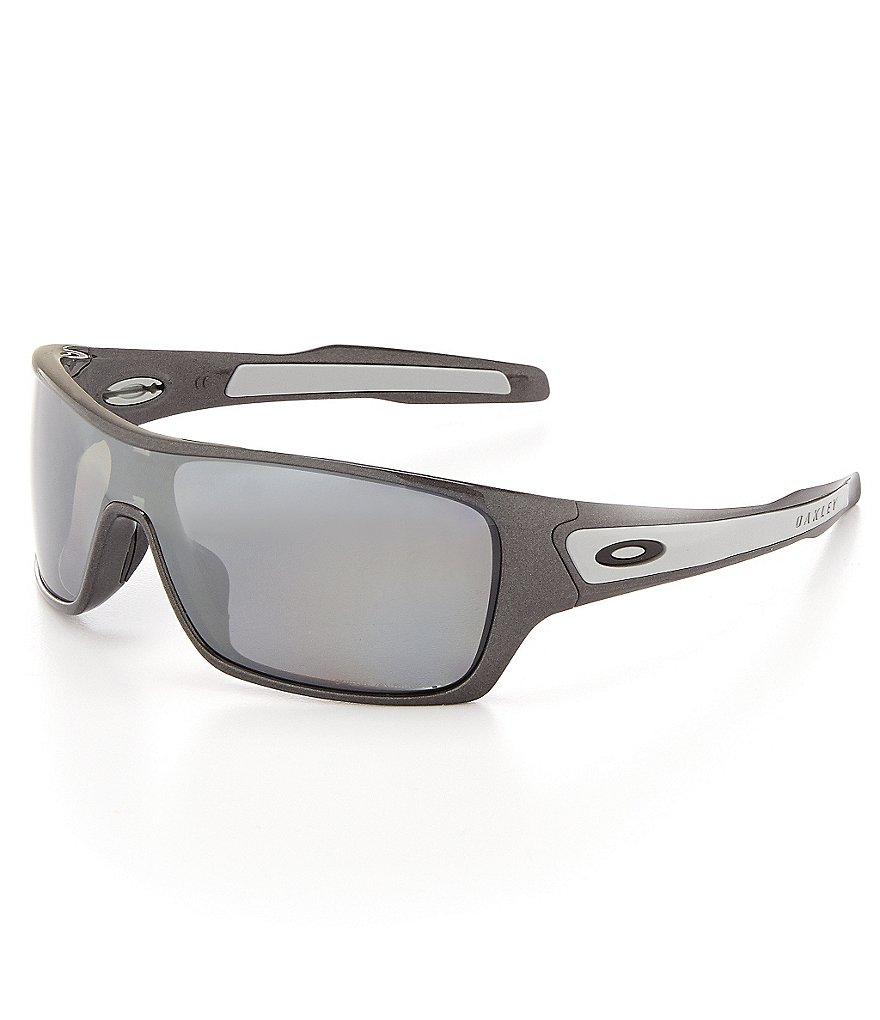 Oakley Turbine Mirrored Rectangular Sunglasses