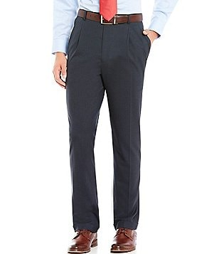 Daniel Cremieux Signature Classic-Fit Plaid Pleated Pants