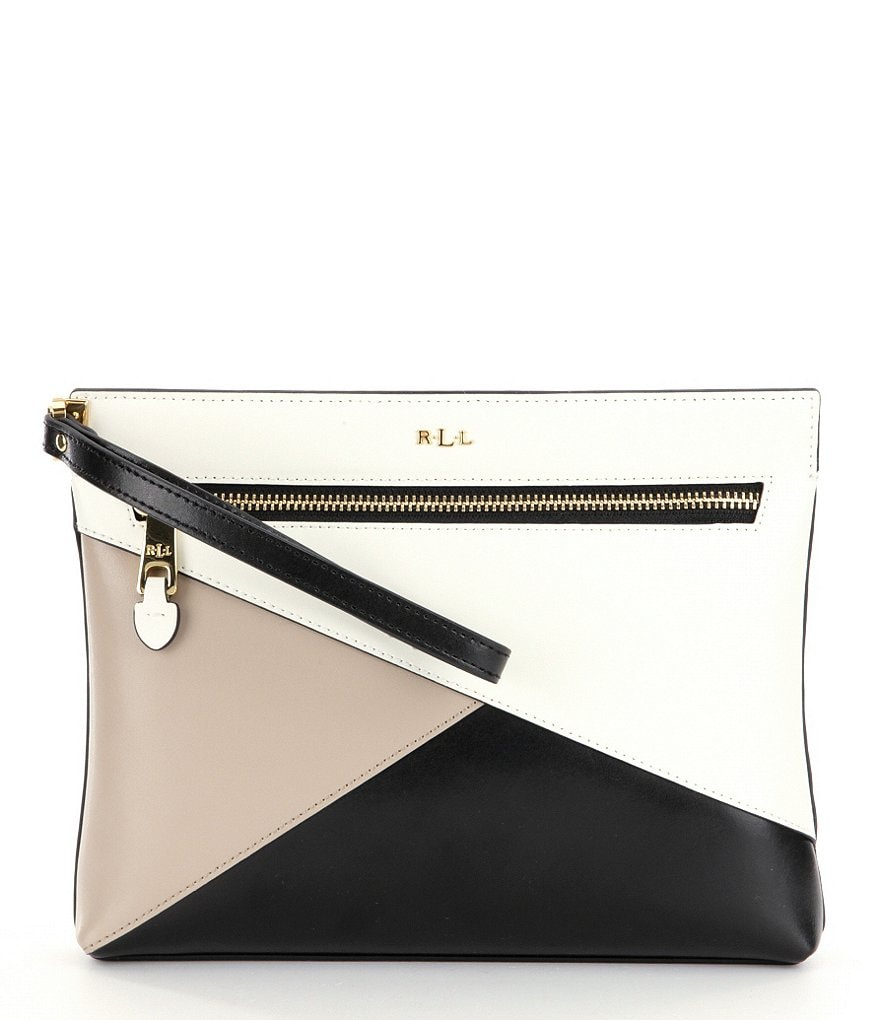 Lauren Ralph Lauren Newbury Yasmeen Color Block Clutch