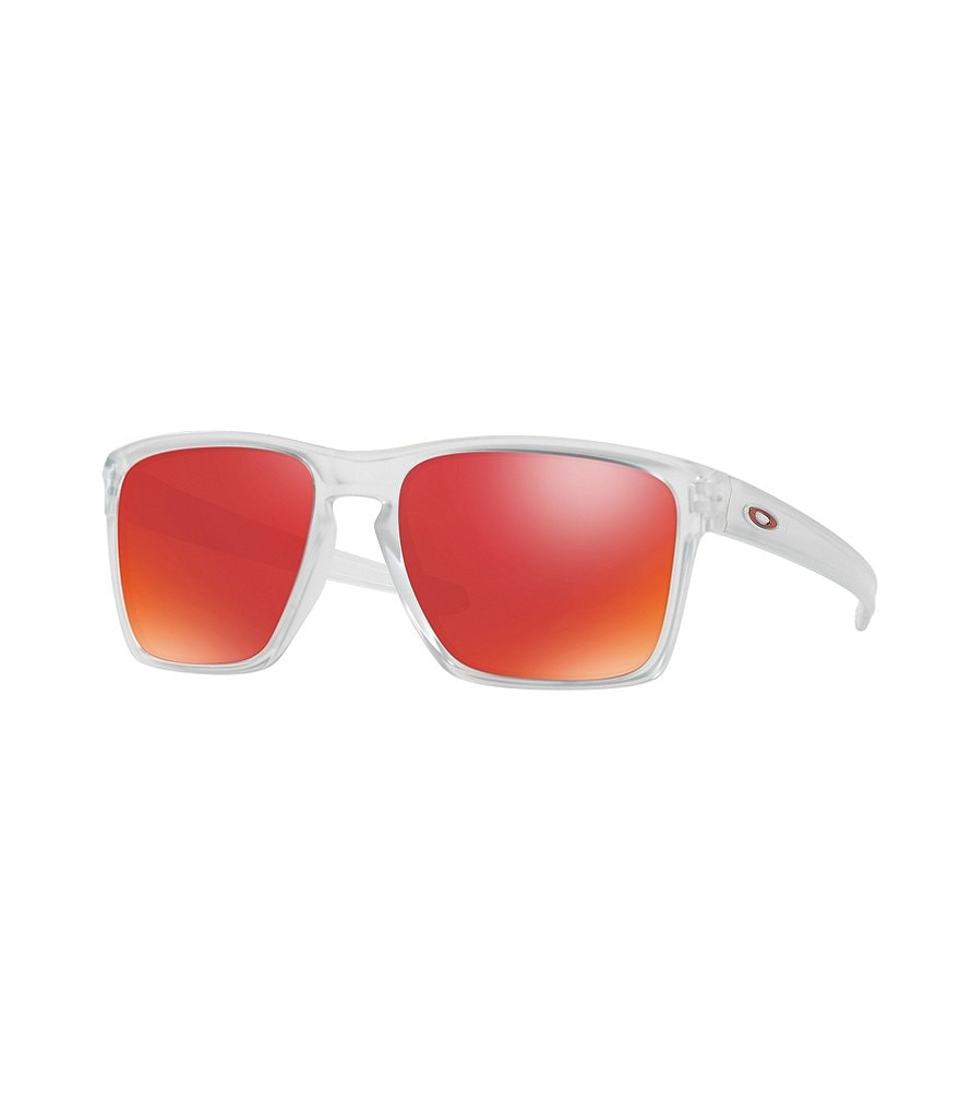 Oakley Sliver XL Flash/Mirror Square Sunglasses