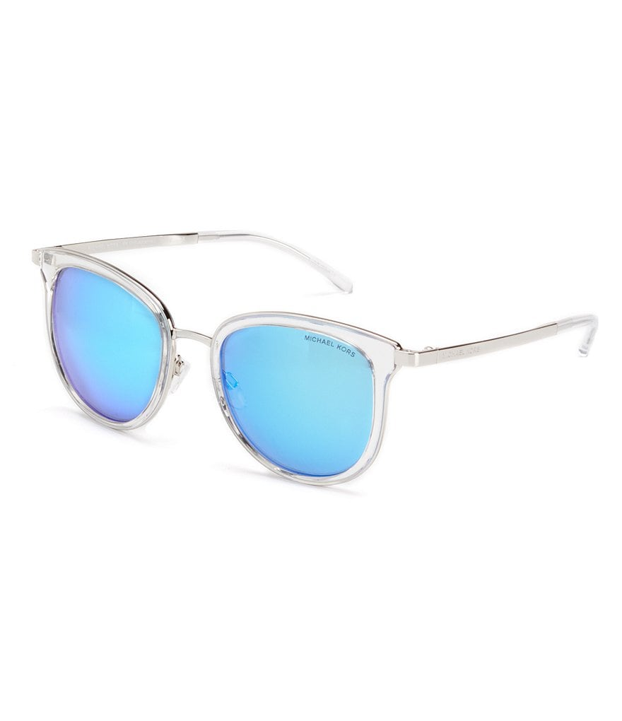 Michael Kors Mirrored Round Sunglasses