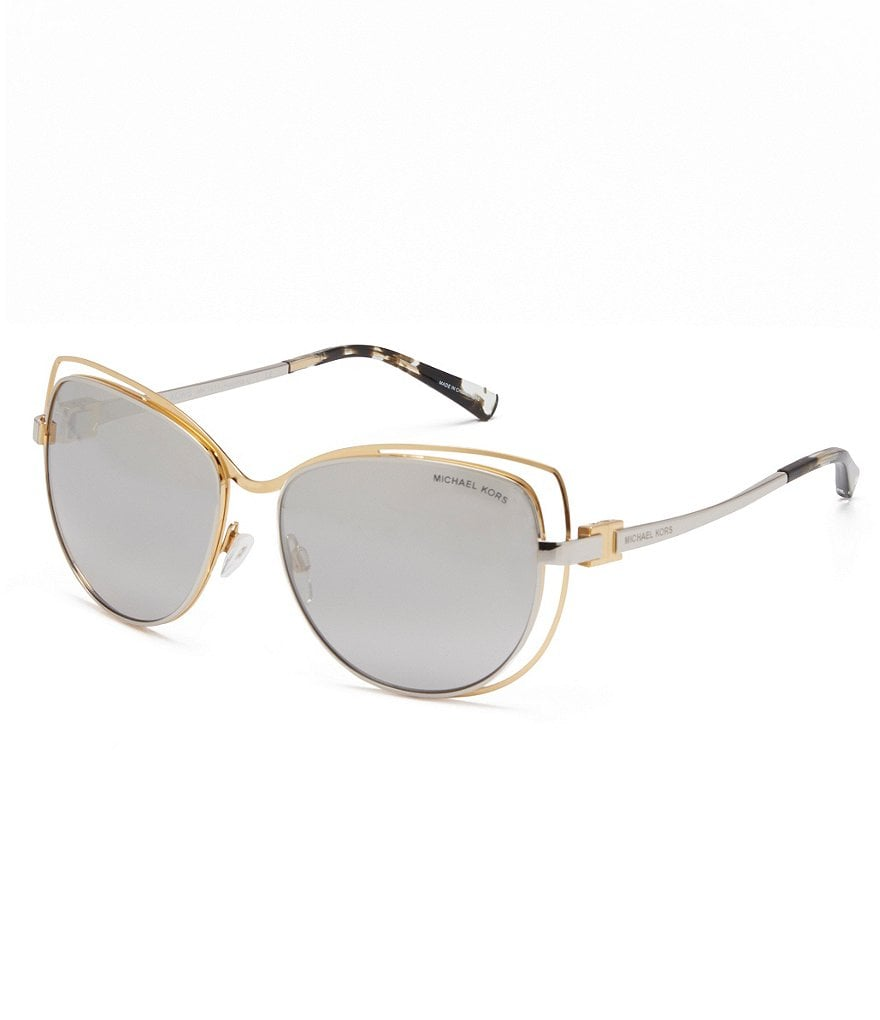 Michael Kors Audrina I Mirrored Cat-Eye Sunglasses