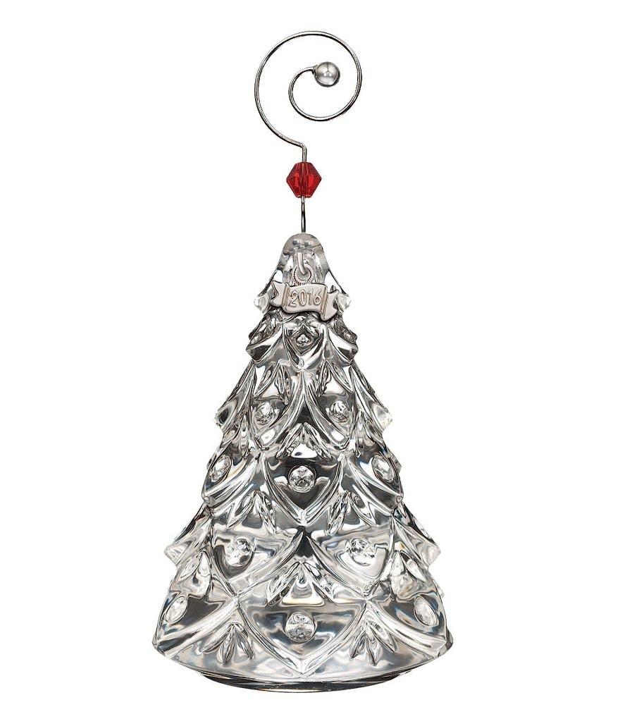 Waterford Crystal 2016 Mini Tree Ornament
