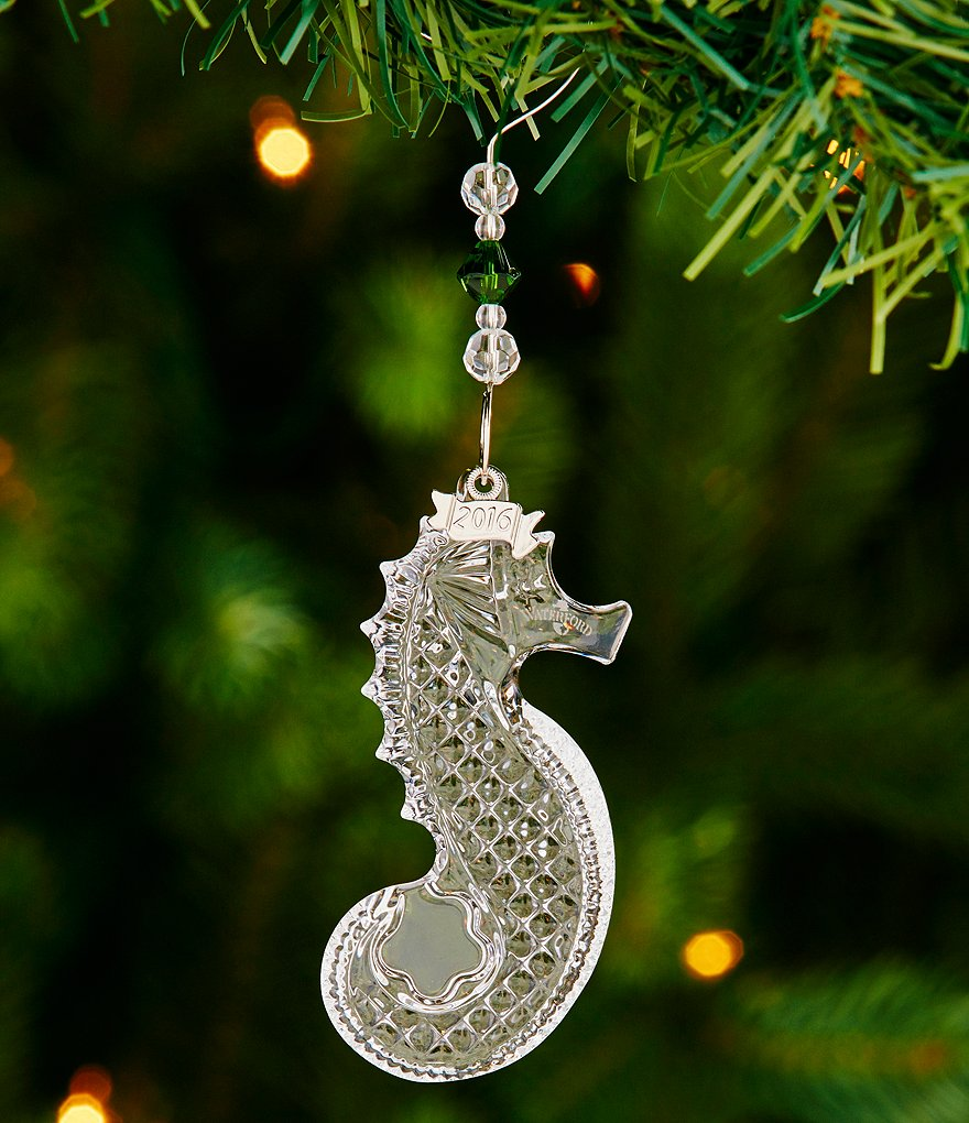 Waterford Crystal 2016 Annual Seahorse Ornament
