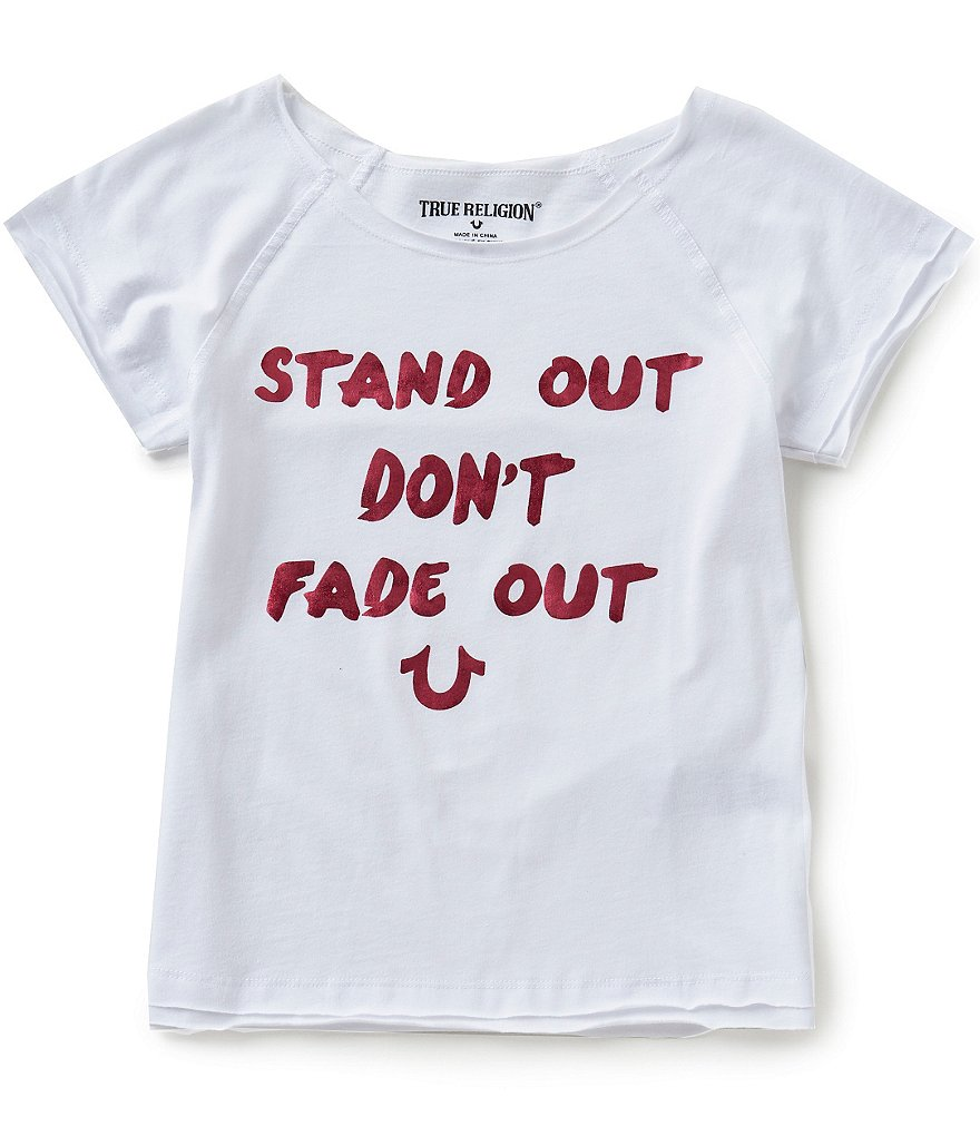 True Religion Big Girls 7-16 Stand Out Graphic Tee