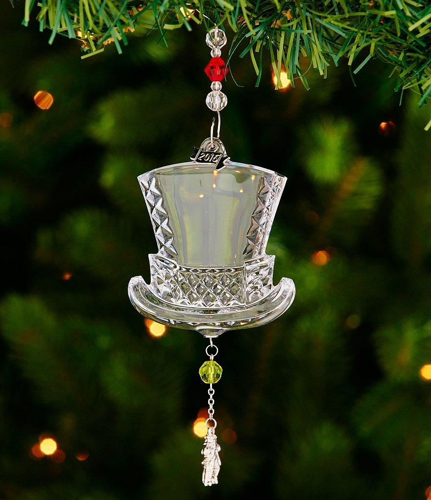 Waterford Crystal 2016 12 Days of Christmas 10 Lords A-Leaping Ornament
