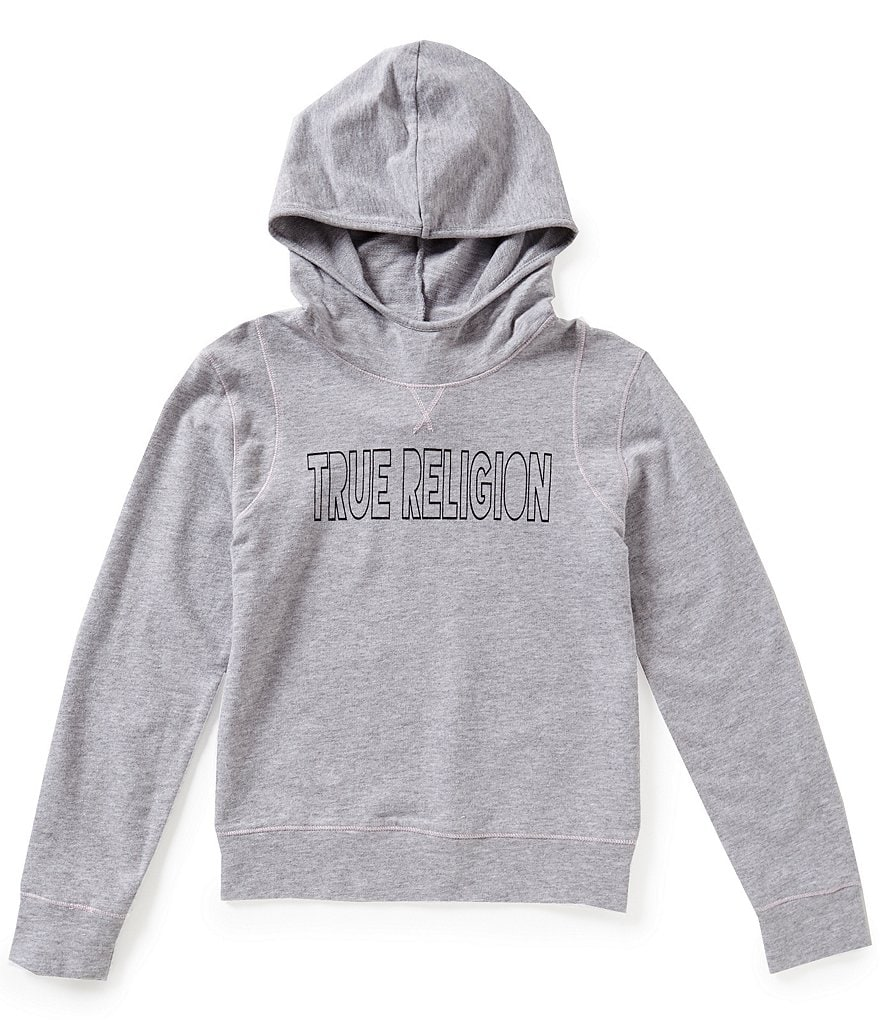 True Religion Big Girls 7-16 Paneled Pullover Hoodie