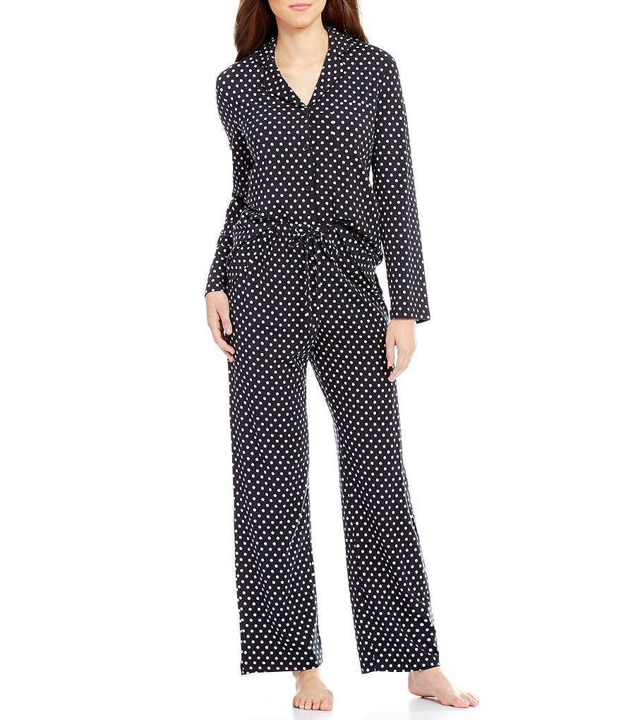 Cabernet Dotted Pajamas