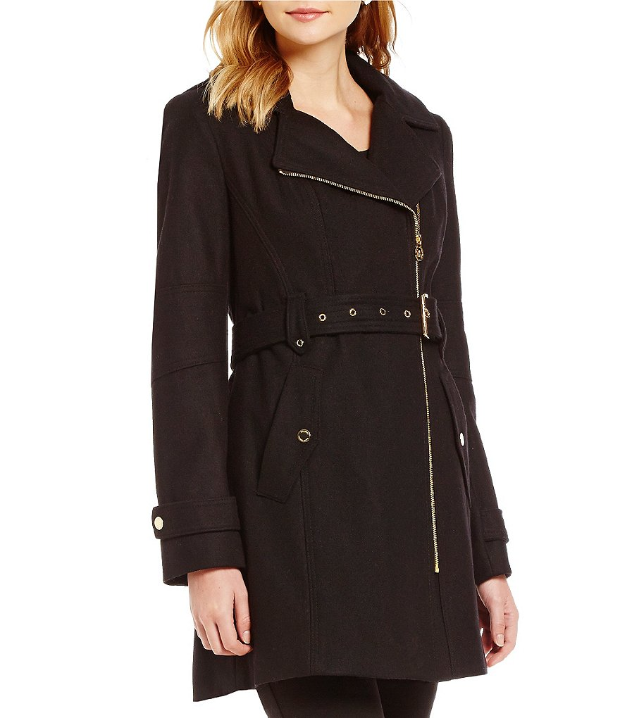 Michael Michael Kors Mid Wool Trench Coat