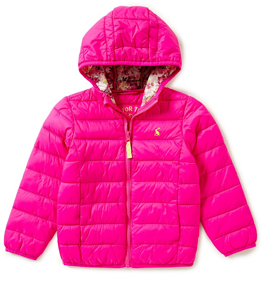 Joules Little Girls 3-6 Padded Packaway Jacket