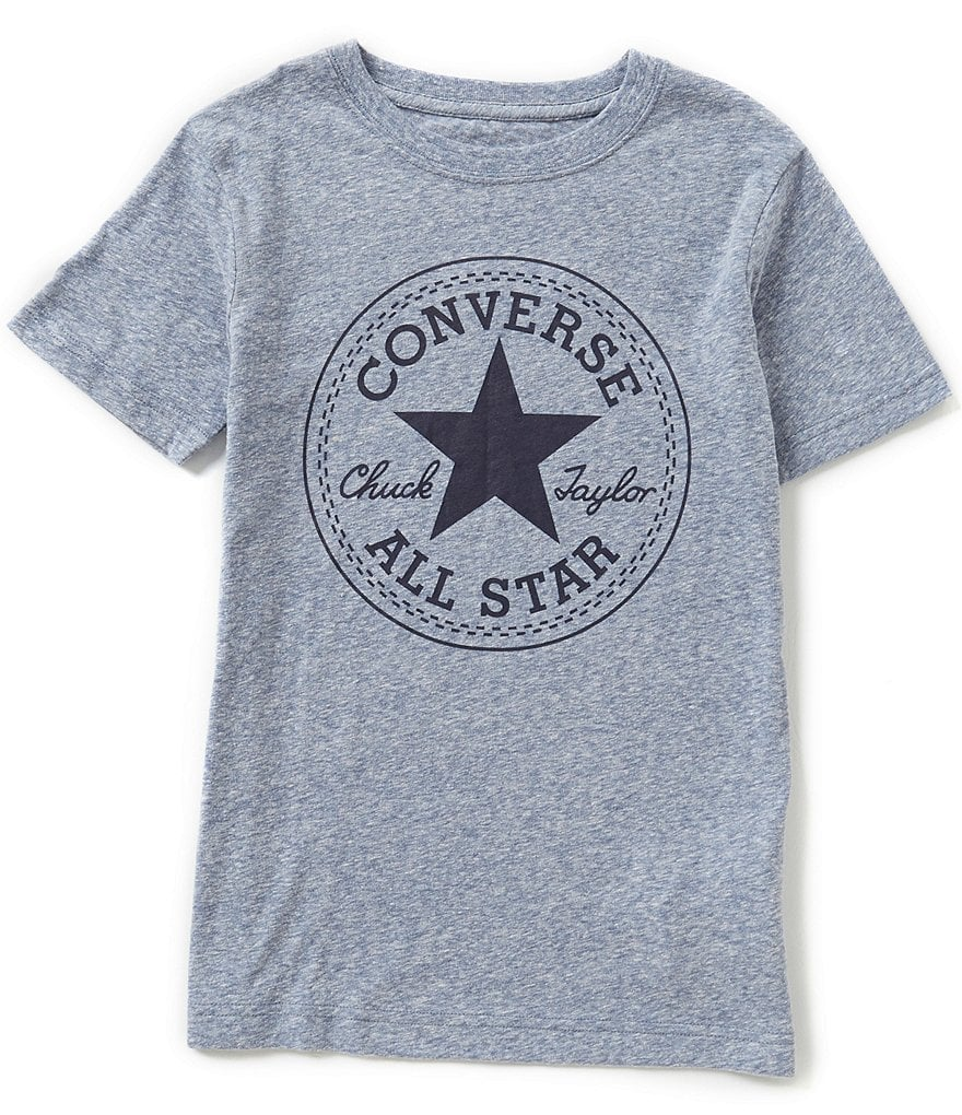Converse Big Boys 8-20 Painted Chuck Graphic Short-Sleeve Tee