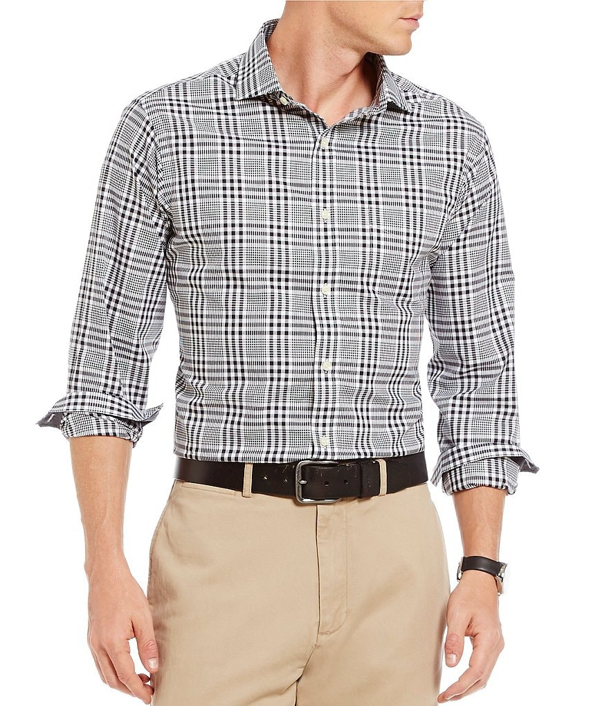 Cremieux Long-Sleeve Plaid Woven Shirt