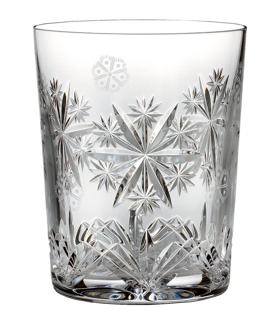 Waterford 2016 Snowflake Wishes Serenity Double Old Fashioned Glass