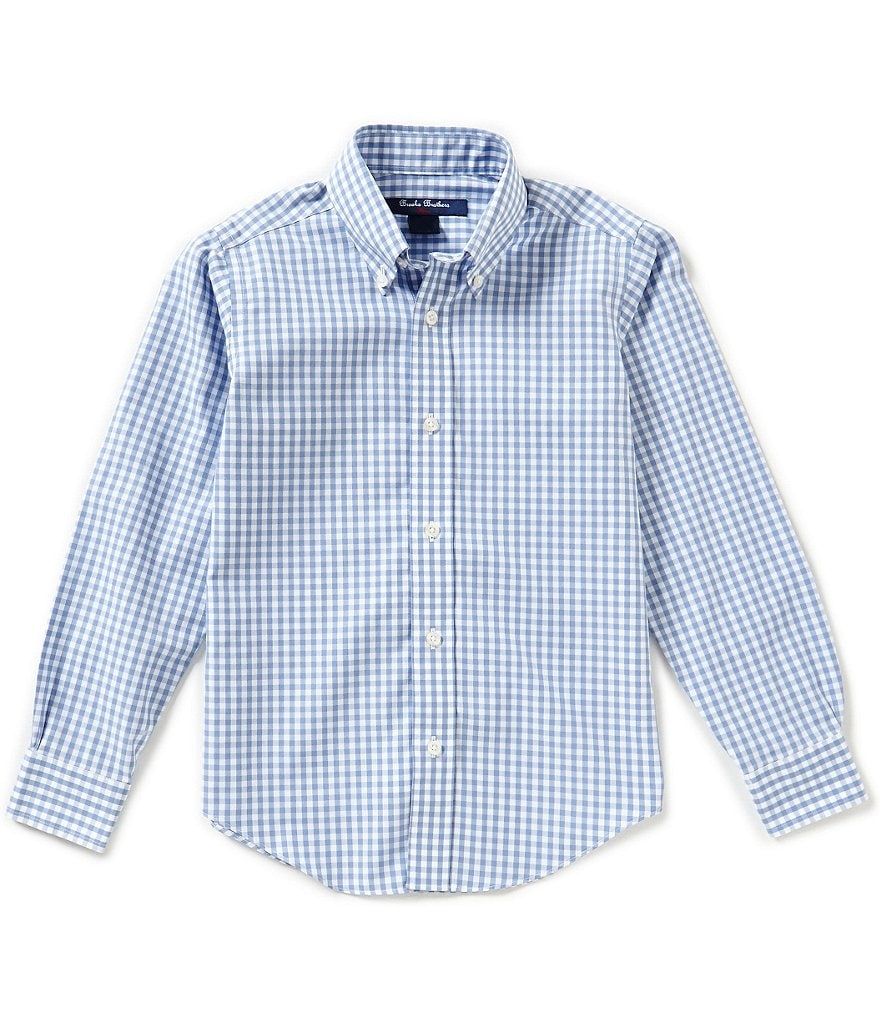 Brooks Brothers Little/Big Boys 4-20 Non-Iron Gingham Woven Shirt